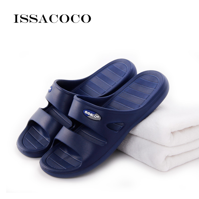 ISSACOCO 2018 Apavi vīriešiem Čības Sandales Vīrieši Vasaras - Vīriešu apavi - Foto 2