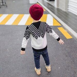 Image 3 - سوسي & ريتا سترات خريف 2019 للأولاد سترات محبوكة أكمام طويلة للخريف والشتاء سترات للأطفال ملابس الكريسماس للأطفال