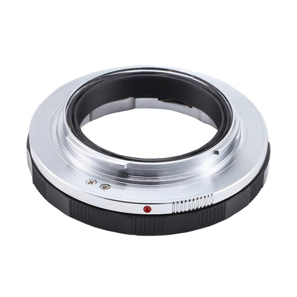 Accessoires d'extension d'anneau de photographie Macro manuelle de LM-NEX adaptateur d'objectif réglable professionnel support d'appareil-photo Anti-secousse en métal