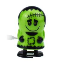 iWish Halloween Wind Up Green Ghost Goblin Zombies Jump Vampire Winding Walking Frankenstein Jumping Kids  Toys All Saints' Day iwish halloween wind up on the chain jump ghost black human skeleton jumping human skull gift toy for kids toys all saints day