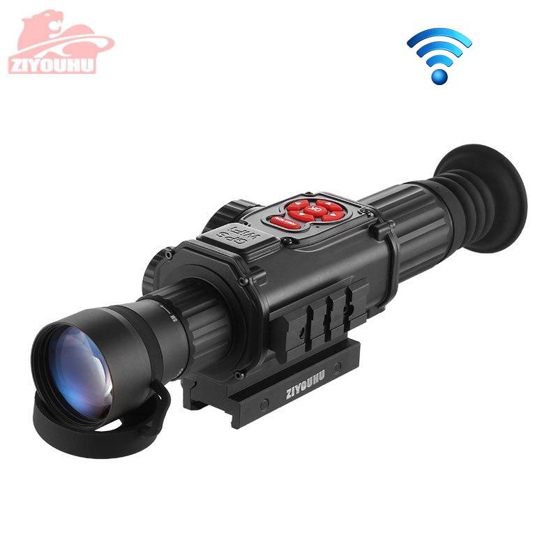 ZIYOUHU ZY-680C Digital Night Vision Sights Rifle Optics Scope Night-aiming Device Digital Vision Camera Sighting Telescope