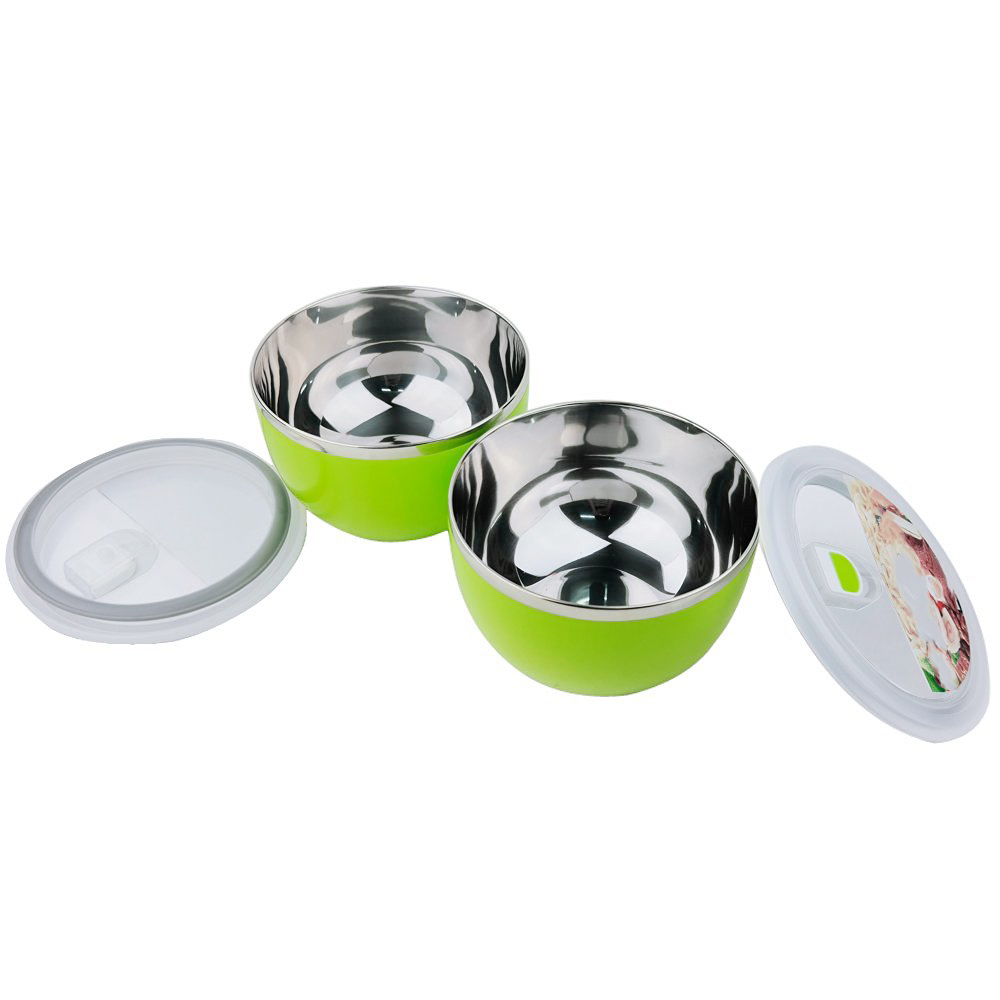 New Arrival And Best Sale Stainless Steel Lunch Box Food Storage Snack Containers Vacuum Lid Multi