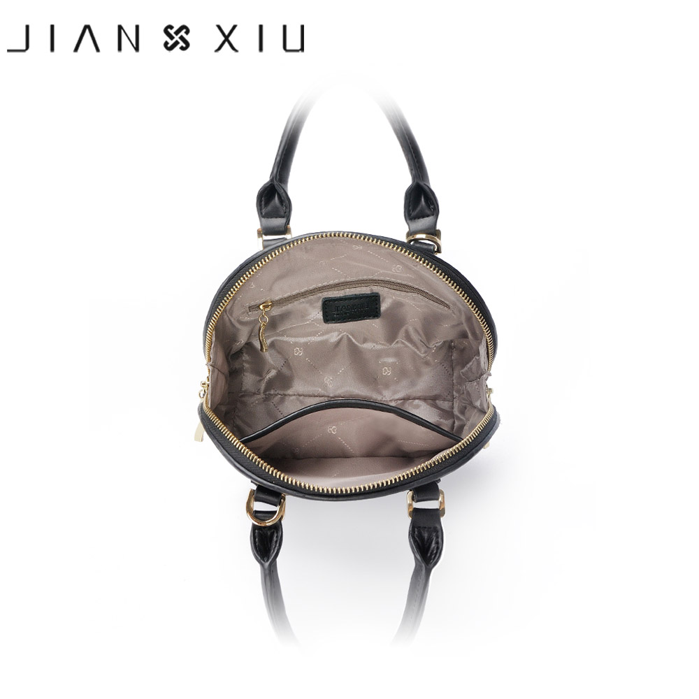 JIANXIU Brand Luxury Handbags Women Bags Designer Leather Handbag Synthetic Leather Tote 2018 Small Shell Shoulder Crossbody Bag-in Shoulder Bags from Luggage & Bags    3
