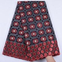 2019 son afrika kuru dantel kumaş Swiss vual taşlar İsviçre pamuk dantel yüksek kaliteli İsviçre dantel kumaşlar düğün için a1682
