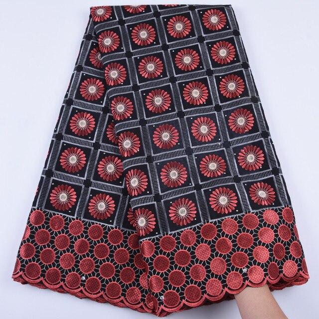 2019 новейшая африканская кружевная ткань, швейцарская вуаль с камнями, швейцарская хлопковая кружевная ткань высокого качества, швейцарская кружевная ткань для свадьбы A1682