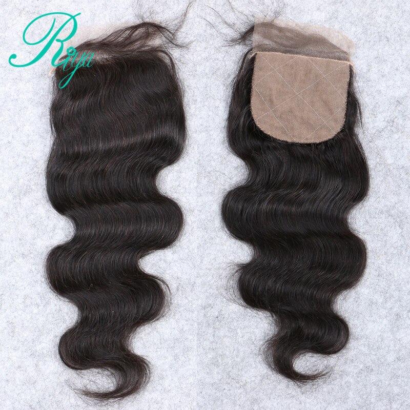 Riya Hair Peruvian Body Wave Silk Base Closure Silk Top