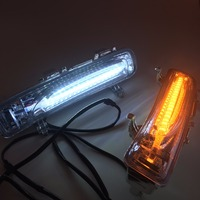 LED Daytime Running Light For Ford Edge 2011 2012 2013 2014 With Yellow Turn Signal And