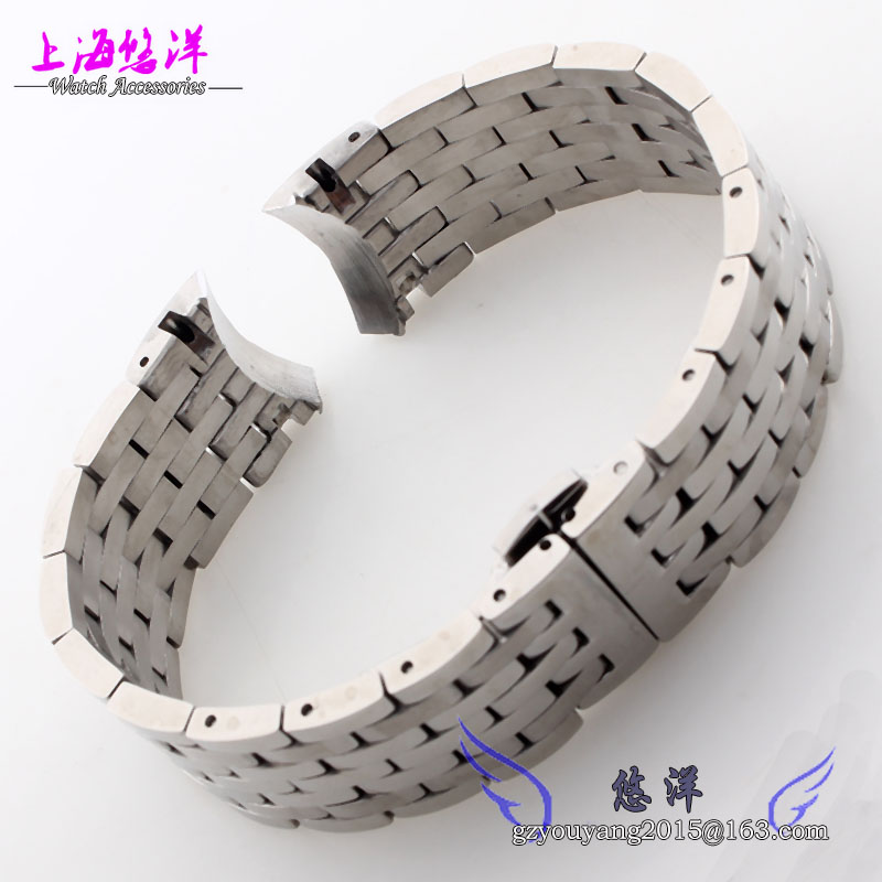 Solid stainless steel adapter T038 430 11 strap only 19 mm series hand chain