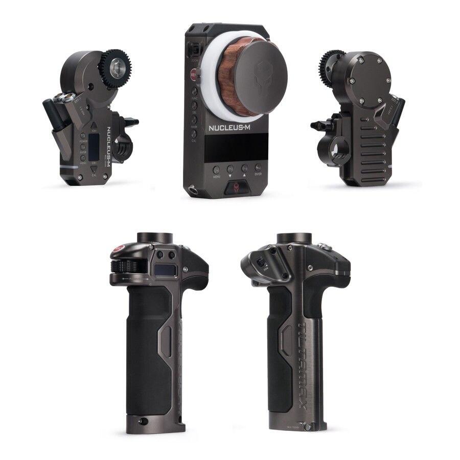 En Stock TILTA WLC-T03 Noyau-M Sans Fil Follow Focus Lens Control système Noyau M pour 3-Axis Cardan DJI ROIN pour Arri ROUGE