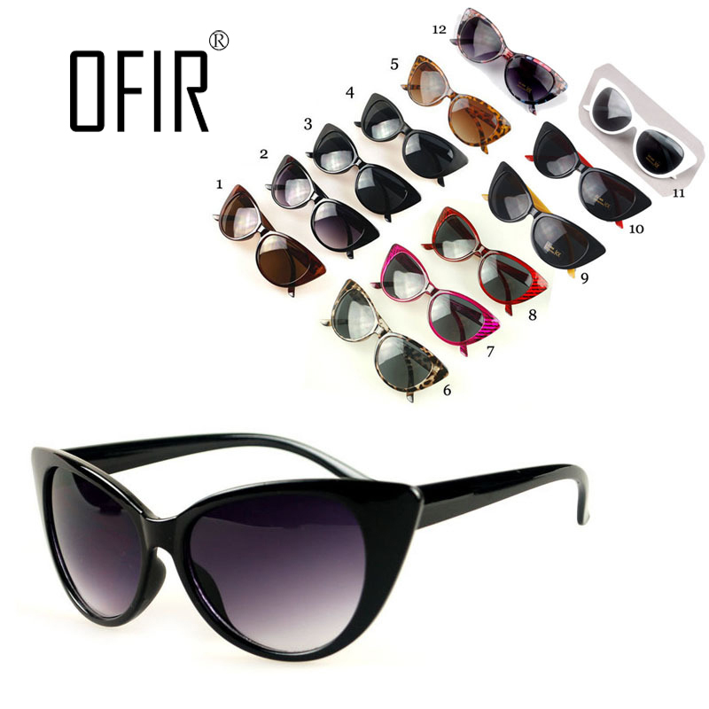 NEW Cat Eye Sunglasses of Women Fashion Sexy UV400 Sun Glasses Gradient Lens Plastic Female Eyewear  de sol feminino NK-4