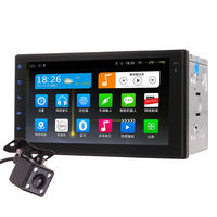 7 Inch Universal 2DIN Android Quad Core Car In Dash Video Player GPS WIFI Bluetooth Hean Unit Stereos for Nissan Honda Toyota