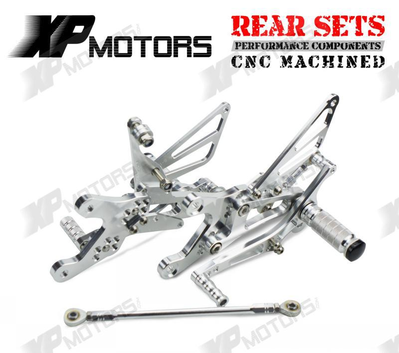 купить NICECNC CNC Adjustable Foot pegs Footpeg Footrest Rear Sets For Yamaha YZFR1 YZF-R1 LE 2004 2005 2006 YZF R1