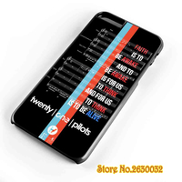 Car Radio Lyrics Twenty One Pilots Case Cover For Samsung Galaxy S3 S4 S5 S6 S7