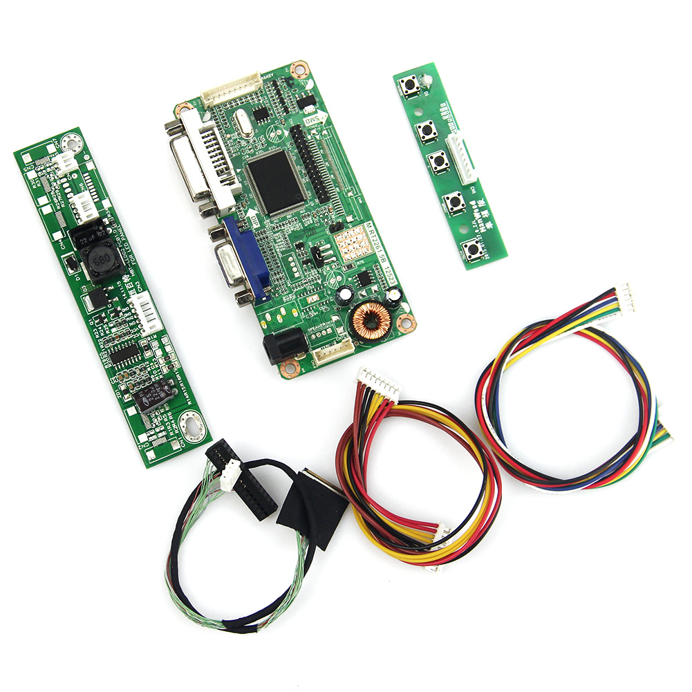 M.RT2261 M.RT2281 LCD/LED Controller Driver Board(VGA+DVI) For LP133WX3-TLA5  N133IGE LVDS Monitor Reuse Laptop 1280x800