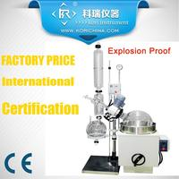 Safety Expert Laboratory Equipment Rotary Evaporator With Ex Motor With Digital Display Speed 120RPM With Heat