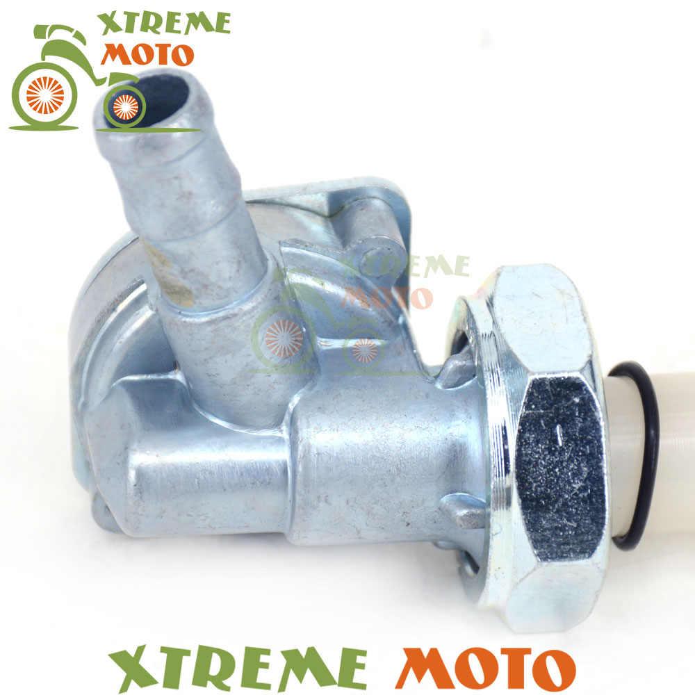 Tankı gaz vanası Cock Anahtarı Yağ Musluğu Musluk Yakıt Çekvalf Honda NSR250 MC21 CBR400 NC23 NC29 CBR600F 87-90 steed 400 600