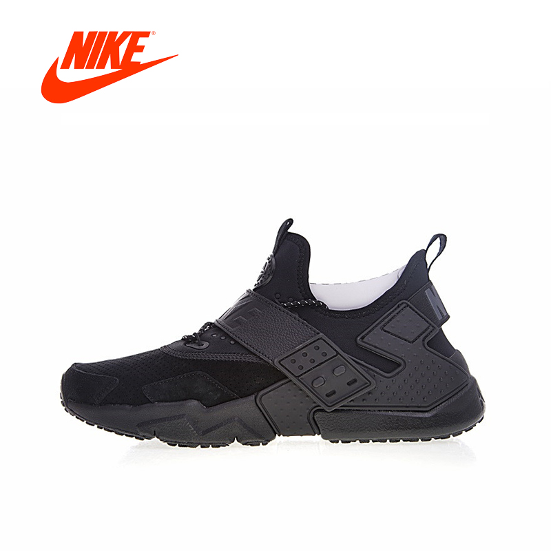 Original New Arrival Authentic Nike Air Huarache Drift Prm Men's Breathable Running Shoes Sport Sneakers Good Quality AH7335-001 original new arrival 2018 nike air huarache drift prm men s running shoes sneakers