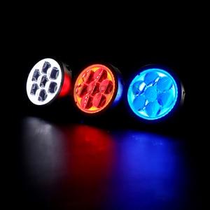Image 5 - Royalin Auto Led Grootlicht Projector Koplampen Lens Met Devil Eyes Motorfiets Verlichting Voor H1 H4 H7 9005 Lampen Retrofit diy