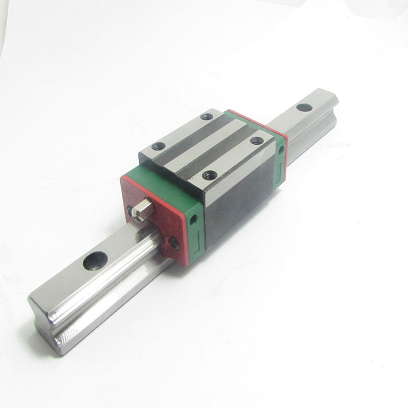 HGR15 linear guide width 15mm length 750mm with HGH15CA linear motion slide rail for cnc xyz axis 1pcs
