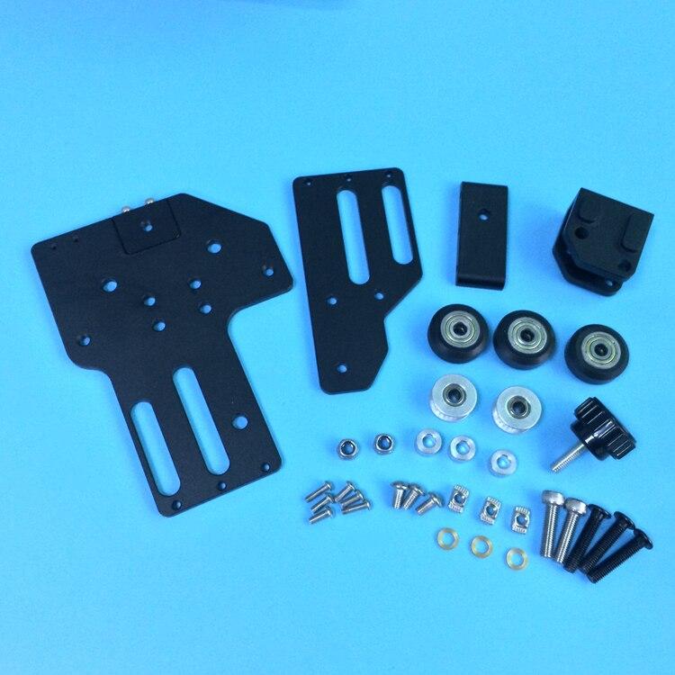 1 set Tronxy 3D imprimante mise à niveau en aluminium X axe ceinture tendeur kit 2040 v-slot pour Tronxy 3D imprimante - 2