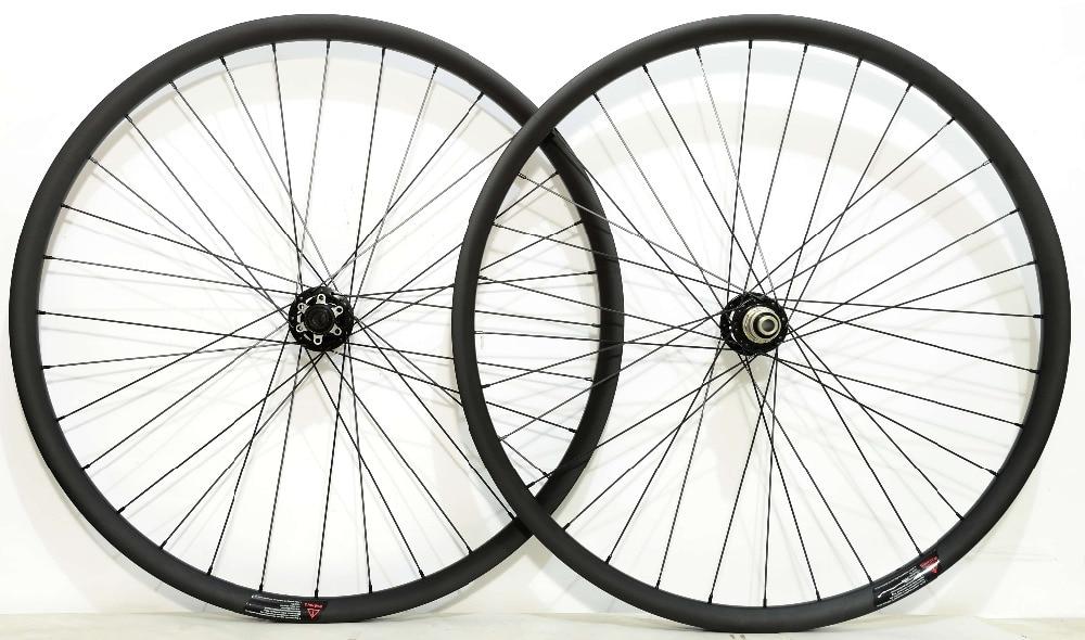 27.5ER мм 2,6 мм off set Асимметричная 30*24 MTB XC бесконтактные Углеродные колеса супер легкий горный велосипед tubuless Готовые углерода колесная