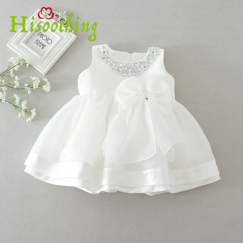Girls Baby Birthday Party Wedding Dress Princess Puff Dress Round Women Diamond Party Sleeve Floral Ribbon Tulle White dress puff sleeve peplum top
