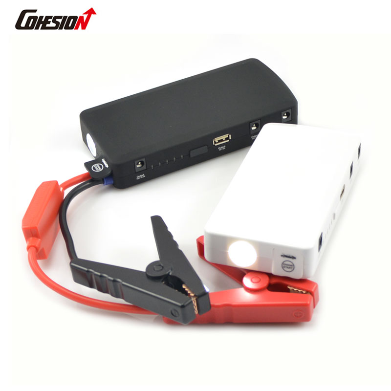 ФОТО Car jump starter auto engine emergency multi function jump starter power bank portable car battery charger laptop booster pack
