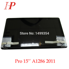 """New Glossy 2011 Year A1286 LCD Screen Assembly For Apple Macbook Pro 15"""" A1286 LCD LED Screen Assembly MC721 723 MD318 322"""