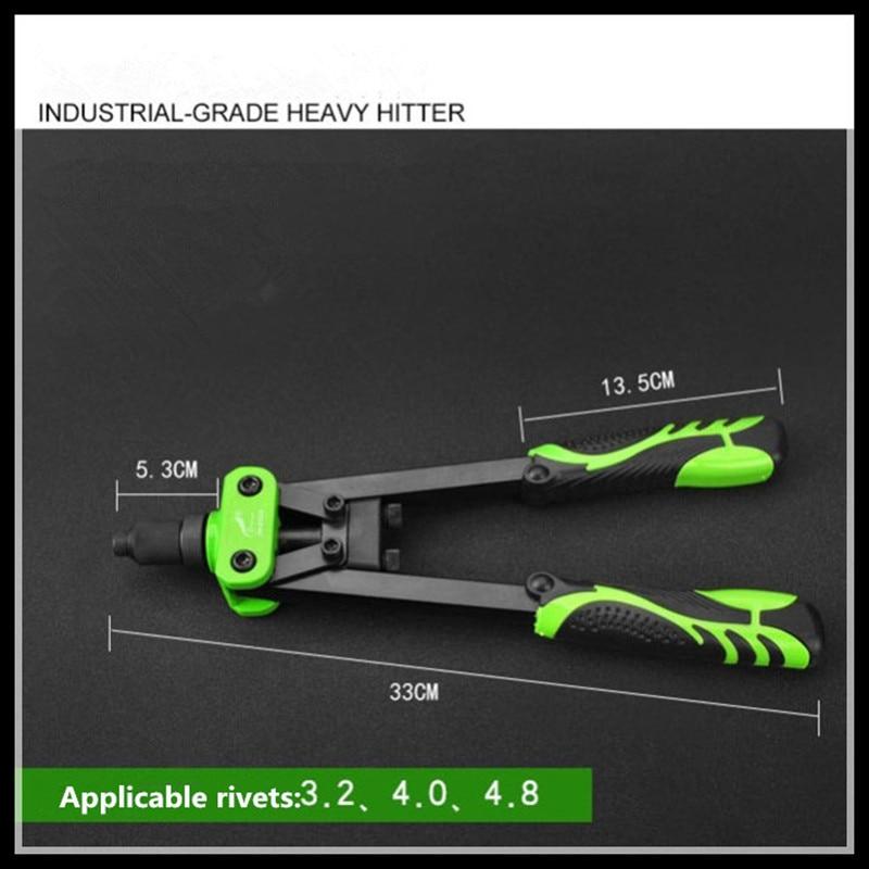Industrial Heavy Duty Rivet Gun Nut Gun дырокол deli heavy duty e0130