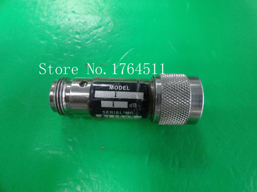 [BELLA] WEINSCHEL 1-1dB DC-12.4GHz 1dB P:5W N Coaxial Fixed Attenuator