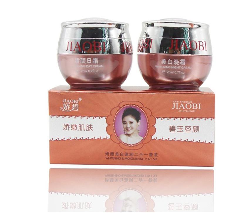 Free Shipping Hongkong JiaoBi Jiaobiyan Whitening Cream Set