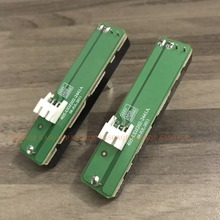 2 PCS Replacement Cross Fader Assembly for Pioneer DDJ SR SX DJM 250 704 DJM250 A032 with PCB Handle height 20mm