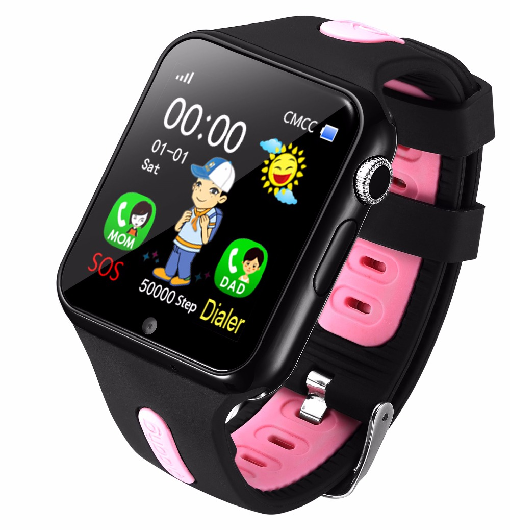 Kids Watch Smart With Camera Facebook Emergency Security Anti Lost SOS For Andro