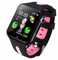 Kids Watch Smart With Camera Facebook Emergency Security Anti Lost SOS For Android Phone Waterproof Baby Clocks SIM