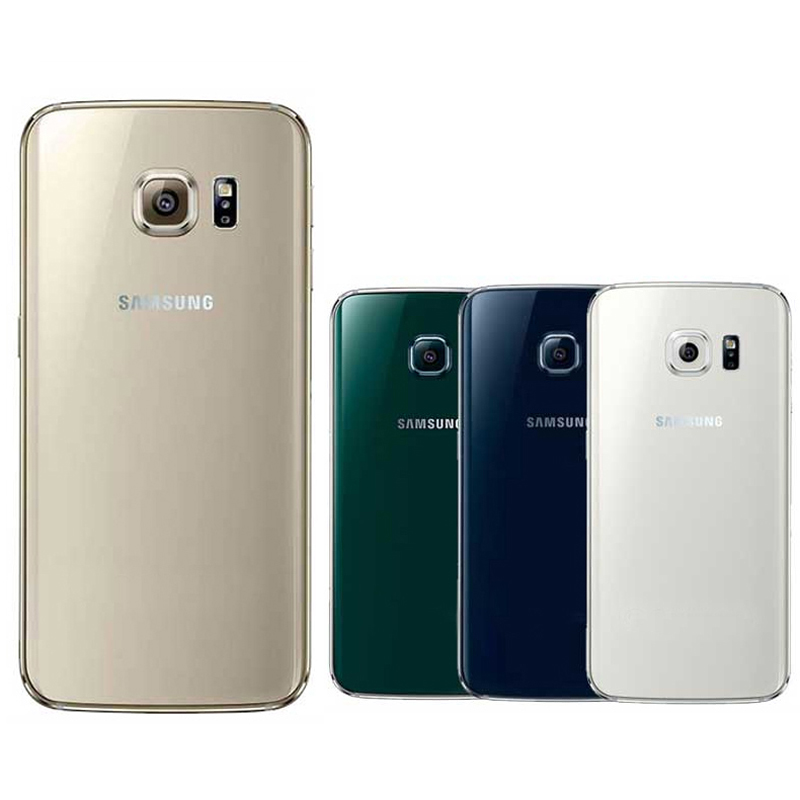 Originale di 100% Per SAMSUNG Galaxy S6 S6edge Vetro Posteriore Coperchio Della Batteria custodia di Ricambio Per SAMSUNG GALAXY G920F G925F