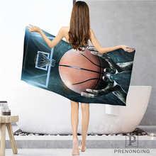 Обычай баскетбол(1) тряпка для ванной комнаты полотенце s лицо полотенце/банное полотенце для душа s Размер 33x74 см/72x143 см#18-12-17-05-240