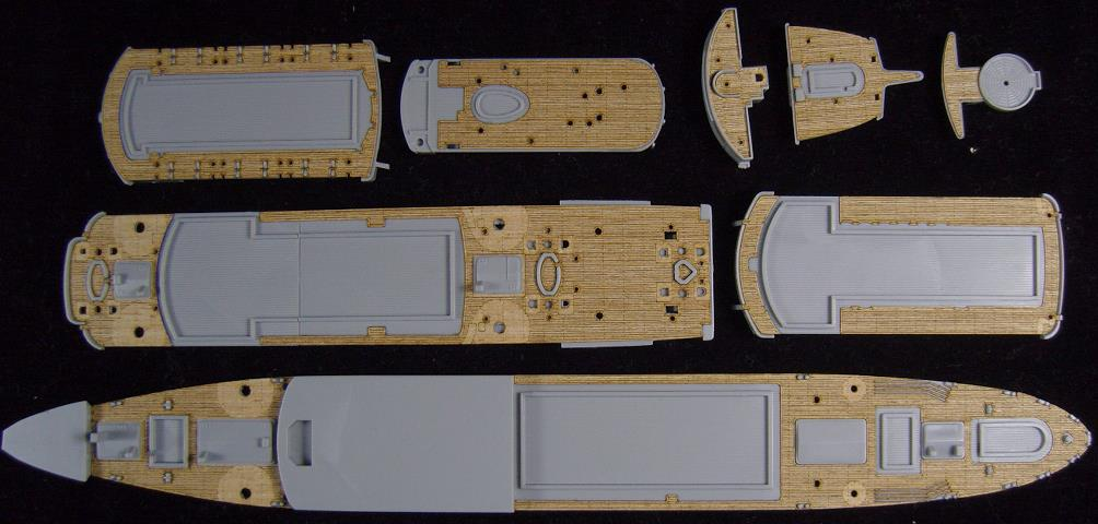 /Pitrod/W135 Maru cruiser wooden deck ARTWOX AW20084