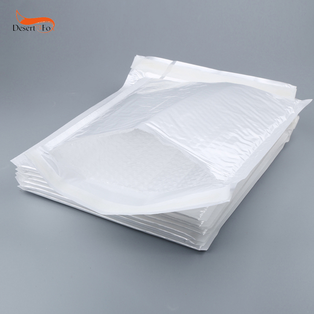 Hot Sell 50pcs Envelopes Shipping Bags Polyethylene Poly Bubble Mailers Padded Self Seal Wholesale