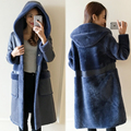arlene sain custom women The new sheep wool fur one coat long lambs wool fur coat double-sided velvet free shipping