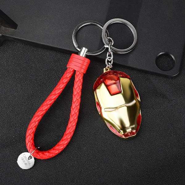 Năm 2019 Thời Trang Sáng Tạo Avengers Liên Minh/Thuyền Trưởng Người Mỹ/Người Sắt/Người Nhện/Búa của Thần Thor Xe Móc Khóa Con Người, túi nữ Dây Chuyền Chìa Khóa