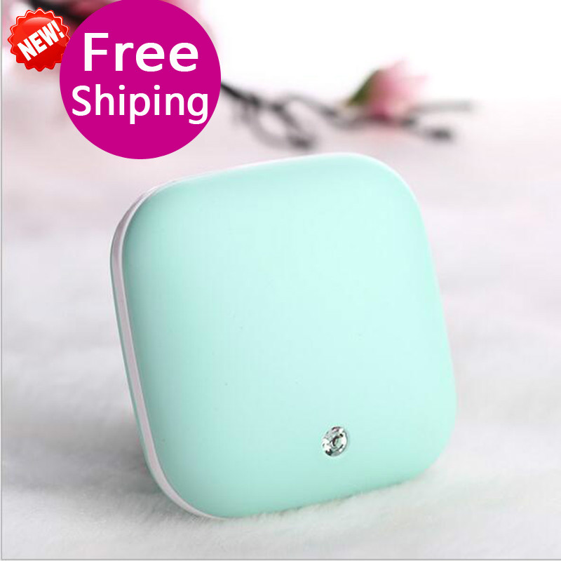 2017 Newest Portable 2 Levels Carat Hand Warmer Power Bank 3500Ma Mini USB Heater External Battery Bank DC 5V 1A 2 in 1 portable electric heater pocket heater as hand warmer 5200mah power bank for phone computer multifunctional hand warmer