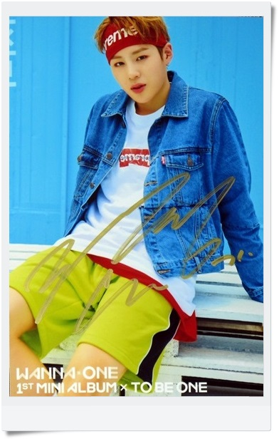 signed  WANNA ONE Ha Sung Woon autographed  photo TO BE ONE  6 inches  freeshipping  092017B signed wanna one autographed group photo to be one 6 inches 11 photos set freeshipping 092017b