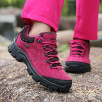 MERRTO New Arrivals Professional   Hiking     Shoes   Women Winter Outdoor Sports Suede Warm Breathable Mountain Climbing Trekking   Shoes
