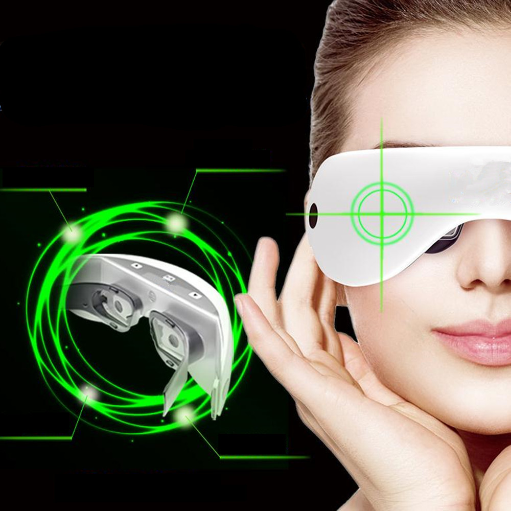 Eye Massager Dilute Dark Circles Bags Under Eyes Eye Instrument Vision Recovery Improve Visual Instrument Eye Bags Massage Tools 2pcs jia kang s three generation eye instrument eye massager eye eye massager extended edition of the new