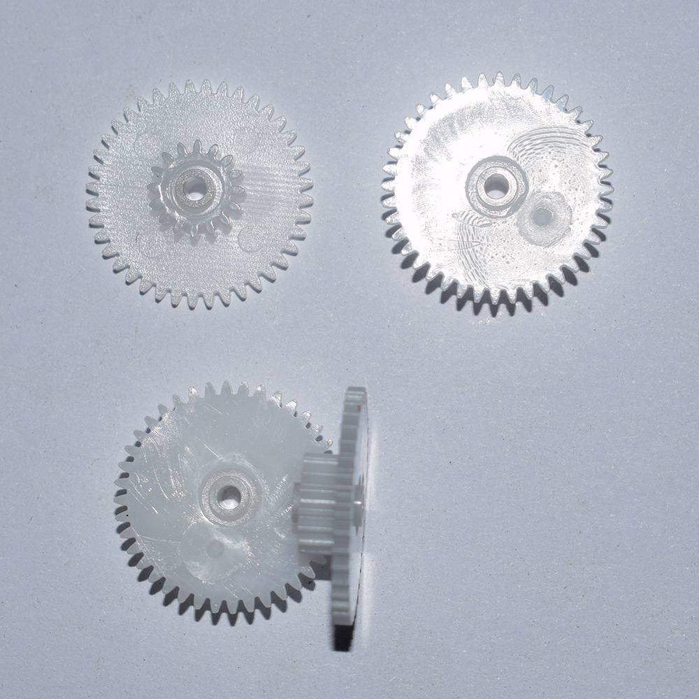 10/100pcs 40+16teeth For 2mm Shaft Loose Fit Plastic Gears/reduction Gear/rc Toy Part Technology Model Parts 40162B