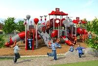 CE, ISO, TUV профессиональные экспортируемых открытая площадка сад слайд управления огнем тип дети играют оборудования YLW OUT171033