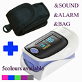 Sale Free shipping CE FDA Fingertip Pulse Oximeter Blood Oxygen SPO2 saturation monitor with packet
