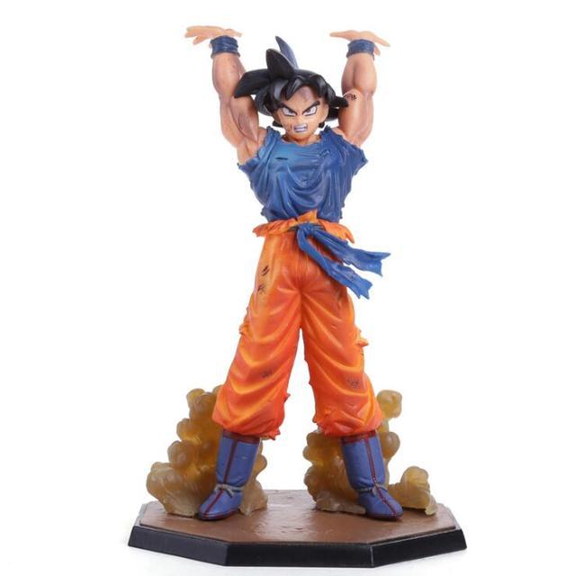 Anime Dragon Ball Z Goku Figura de Ação de Danos de Batalha Edição Son Goku PVC Modelo Coleção de Brinquedos