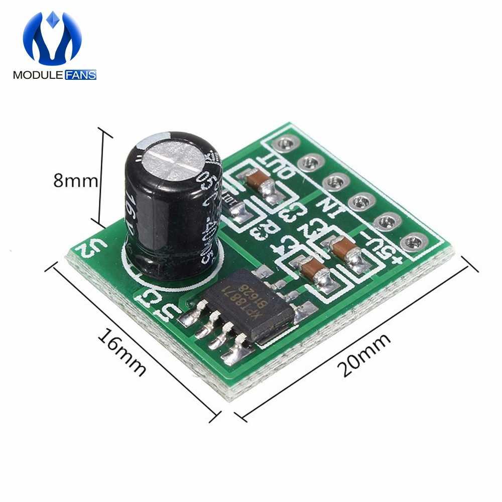 Mini XPT8871 Mono stéréo batterie au Lithium amplificateur de puissance carte 6W chanter Module de Machine 3v 5v 5W sortie Audio entrée XH-M125