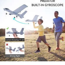 Flying Plane Model Gliders 2.4G 2CH Remote Control RC Airplane